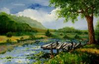 С 16 по 30 ноября в Бобруйске пройдет персональная выставка живописца Сергея Шатило