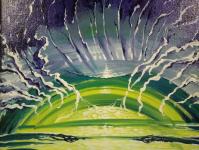Во Дворце искусств г.Бобруйска проходит выставка живописца Сергея Шатило