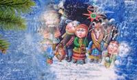 Спецрепортаж. Святки - аг. Техтин (Белыничский район, Могилевская область)